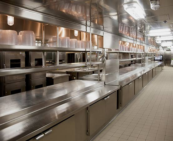 new catering equipment installations